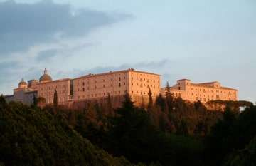 La abadia de Montecassino